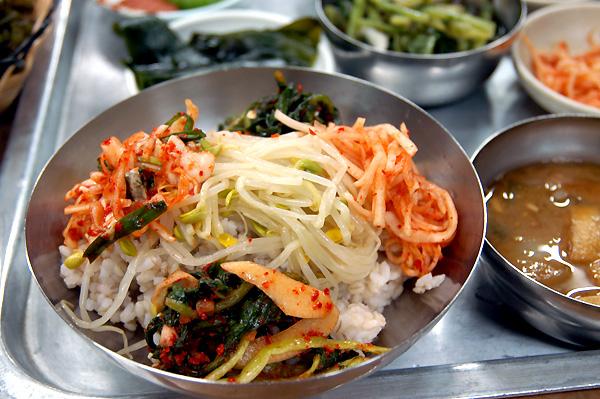 자갈치시장 우리보리밥