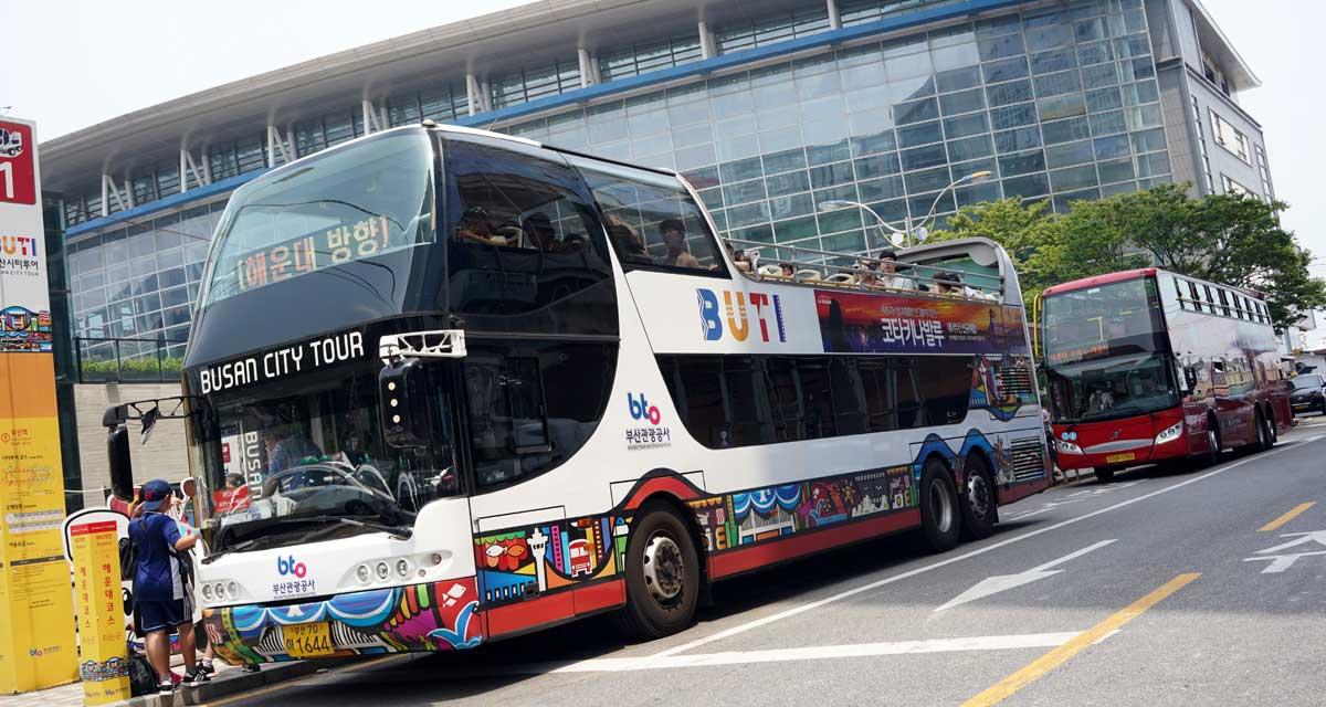 釜山シティツアーバス