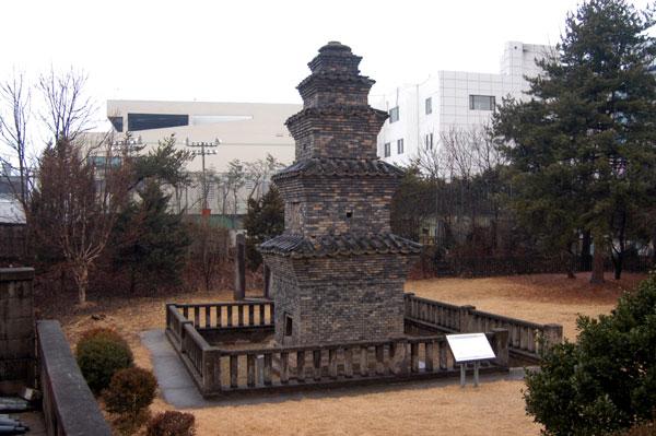 안동역 동부동 5층 전탑