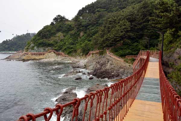 송도암남공원