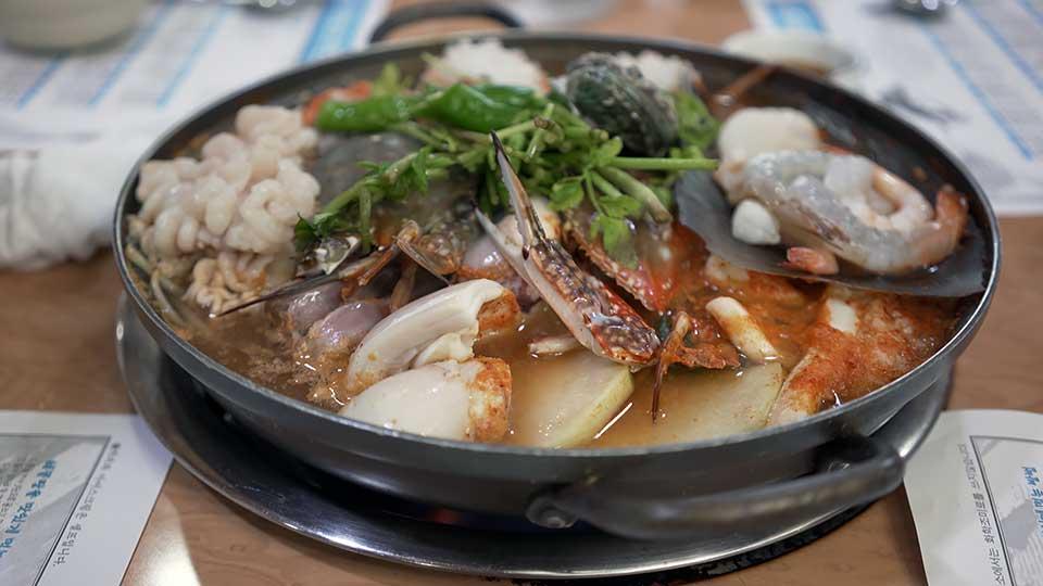 サチョン海鮮鍋